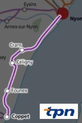 Bus Crans-pres-Celigny