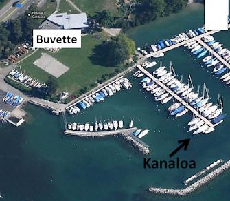 Emplacement bateau Kanaloa